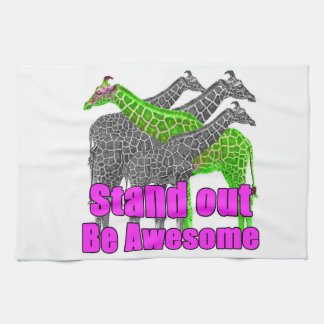 Stand out and be Awesome Kitchen Towel