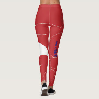 "Stand Out in Patriotic ""and BLUE"" Leggings"