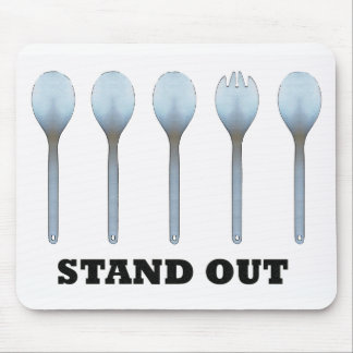 Stand Out Spork Mousepad