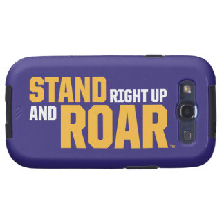 Stand Right Up And Roar Logo Galaxy S3 Cover