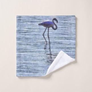 Stand Tall Flamingo Watercolor Wash Cloth