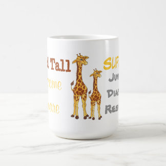 Stand Tall Giraffe  - Juvenile Diabetes Mug