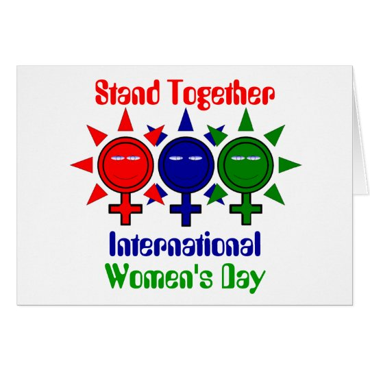 Stand Together International Women's Day Card