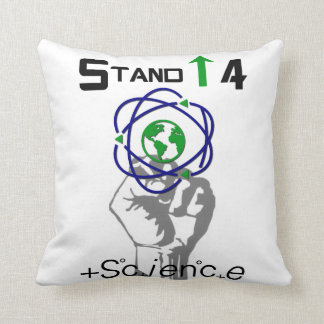 Stand Up 4 Science Environmental  Protection Throw Pillow