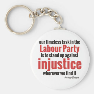 Stand up Against Injustice Keychain