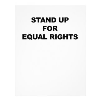 STAND UP FOR EQUAL RIGHTS LETTERHEAD