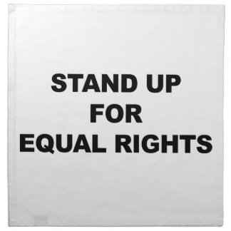STAND UP FOR EQUAL RIGHTS NAPKIN