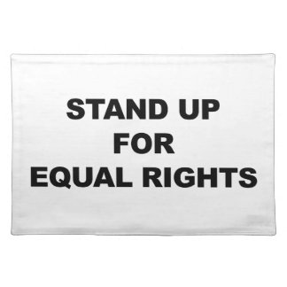 STAND UP FOR EQUAL RIGHTS PLACEMAT