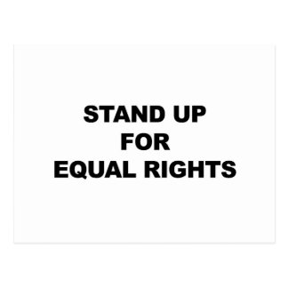 STAND UP FOR EQUAL RIGHTS POSTCARD