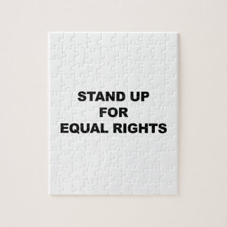 STAND UP FOR EQUAL RIGHTS PUZZLE
