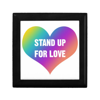 Stand Up for Love (Rainbow Heart) Gift Box