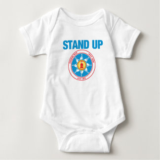 stand up for standing rock baby bodysuit
