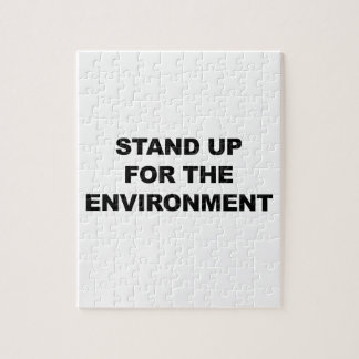 STAND UP FOR THE ENVIRONMENT PUZZLE