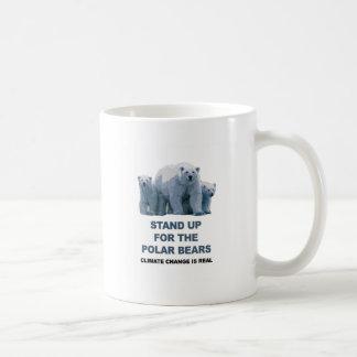 Stand Up for the Polar Bears Coffee Mug