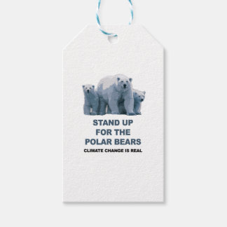 Stand Up for the Polar Bears Gift Tags