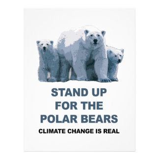 Stand Up for the Polar Bears Letterhead