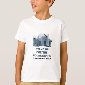 Stand Up for the Polar Bears T-Shirt
