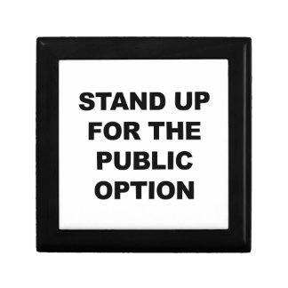 STAND UP FOR THE PUBLIC OPTION GIFT BOX
