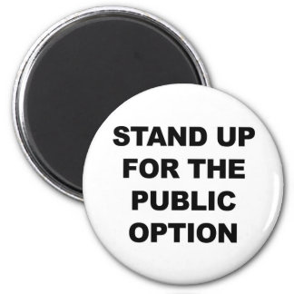 STAND UP FOR THE PUBLIC OPTION MAGNET