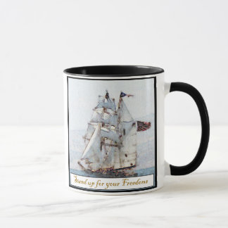 Stand Up for your Freedoms Mug