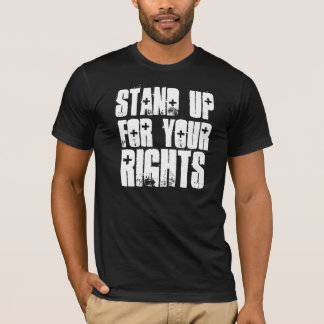 Stand Up for your Rights BLK T-Shirt