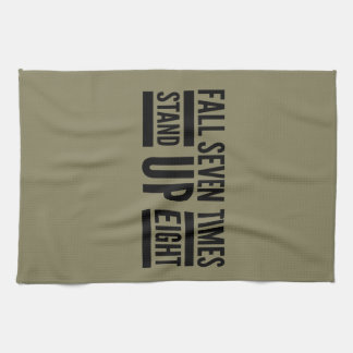 Stand up hand towel
