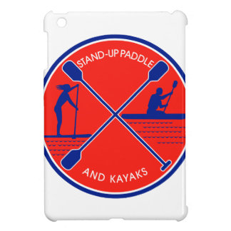 Stand-up Paddle and Kayak Circle Retro Cover For The iPad Mini