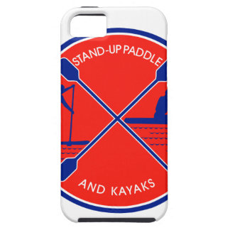 Stand-up Paddle and Kayak Circle Retro iPhone 5 Cover
