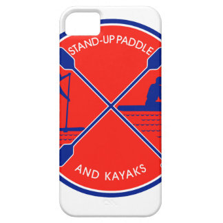 Stand-up Paddle and Kayak Circle Retro iPhone 5 Covers