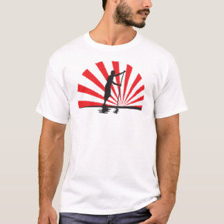 Stand Up Paddleboard Rising SUP Mk II T-Shirt
