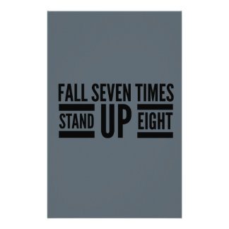 Stand up stationery design
