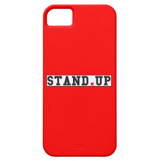 stand up text message emotion feel red dot square case for the iPhone 5