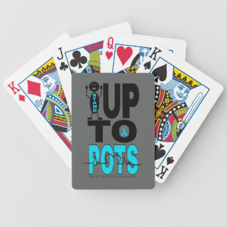 Stand Up To POTS Bicycle Playing Cards