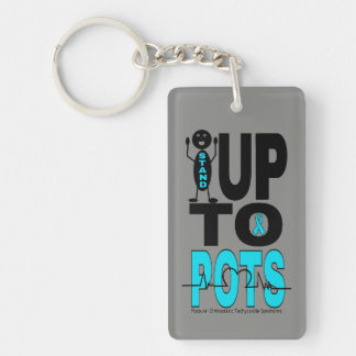 Stand Up To POTS Keychain