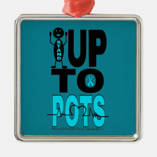 Stand Up To POTS Metal Ornament