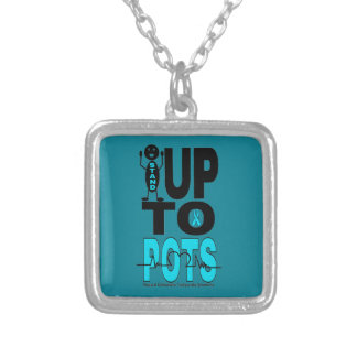 Stand Up To POTS Silver Plated Necklace