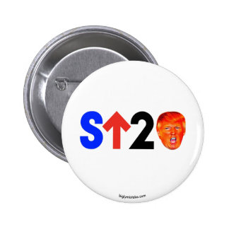 Stand up to Trump! 2 Inch Round Button