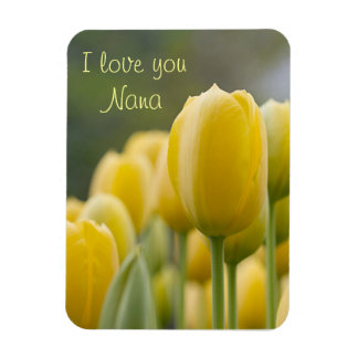 Stand Up Tulip Magnet