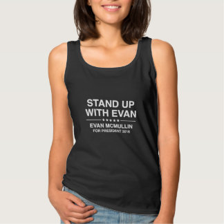 Stand Up With Evan Tank Top