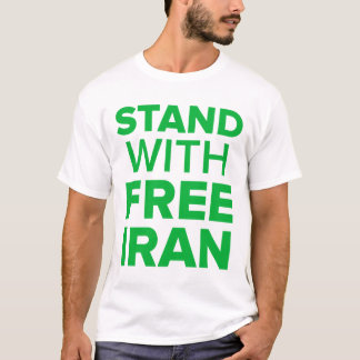 Stand With Free Iran-Tweet Against Tyranny T-Shirt