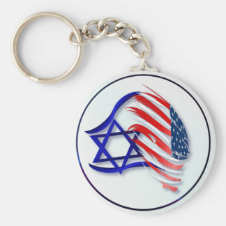 Stand With Israel Keychains