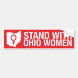 Stand with Ohio Women-Bumper sticker