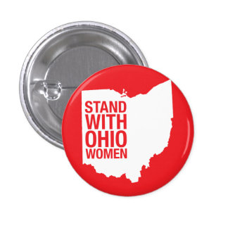 Stand with Ohio Women-Button 1 Inch Round Button