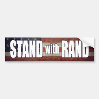 Stand with Rand Paul 2016 Bumper Sticker