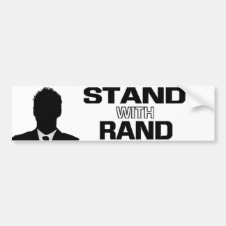 """Stand with Rand"" - Rand Paul 2016 Bumper Sticker"