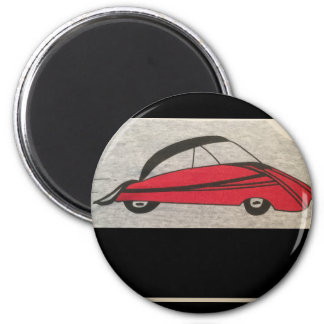 """standard 2 1/4"""" round button with car magnet"""