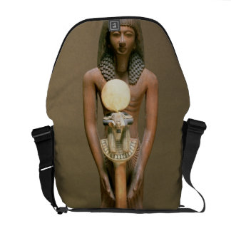 Standard-bearer with ram-headed standard (cariob w commuter bags