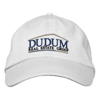 Standard Branded Ball Cap in White Embroidered Hat