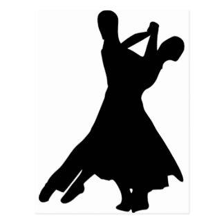 Standard Dance Postcard