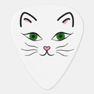 Standard Guitar Pick - Kitty Face